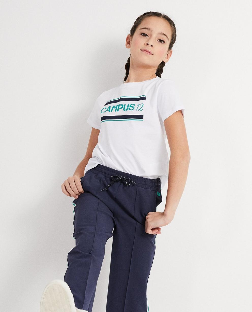 T-Shirts - Weiss - T-Shirt mit Aufschrift